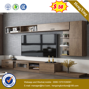 New Design Home Furniture Modern TV Storage Cabinet with Wall Cabinet
