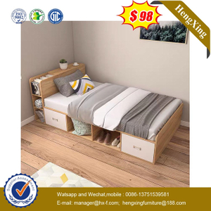 New Product Wooden PU Leather Kids Bed Living Room Children Furniture