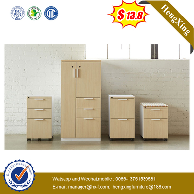 New Design Wood Office Under Desk 2/3/4 Drawer Movable Cabinet
