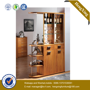 Modern Design Wooden Home Furniture Wine Cabinet Cupboard Storage Racking Living Room Cabinet