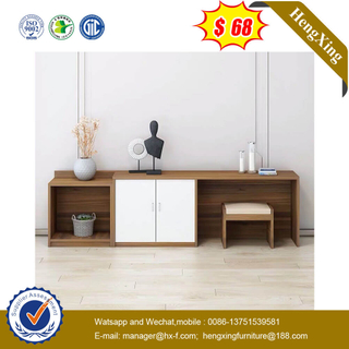 Home Office Hotel Furniture Wooden Storage Cabinet With Dressing Tables