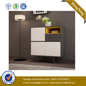 kitchen products Wooden Home Living Room Furniture metal drawer beside table Shoe sideboard cabinet