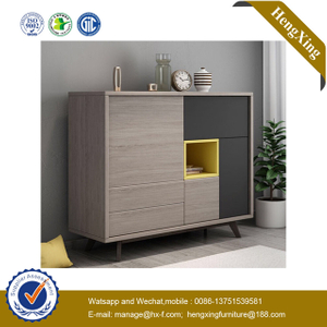 New Product Design Vertical wood living room furniture Wall Shoe Rack nighstand Black beSide Cabinet