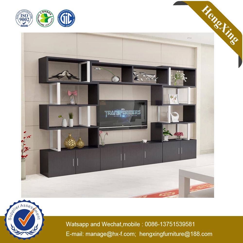 Modern Design Wooden Living Room TV Wall Units Wooden TV Cabinet Stands