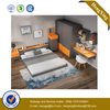 Wooden Bedroom Furniture Set Wadrobe Cabinets Mattress Single Double King Queen Beds with Nightstand