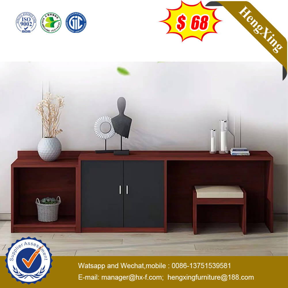 Simple Design Wooden Bedroom Furniture Dresser Computer Table