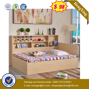 Modern Wooden Hotel Single Bedroom Furniture set Double kids single Beds