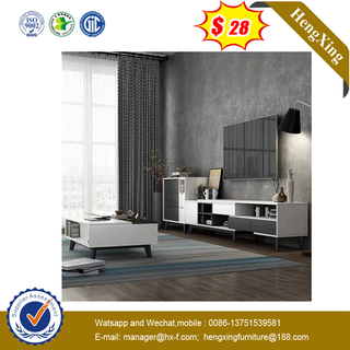 European Style Luxury Wholesale Living Room Furniture MDF Top Coffee Table with TV Stand
