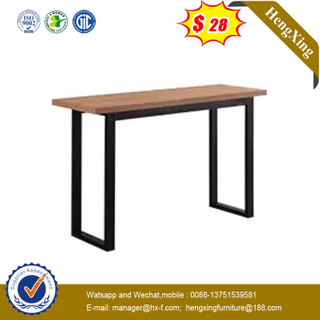 Modern Executive Oak Color Wooden Home Office Table Office Furniture Office Desk