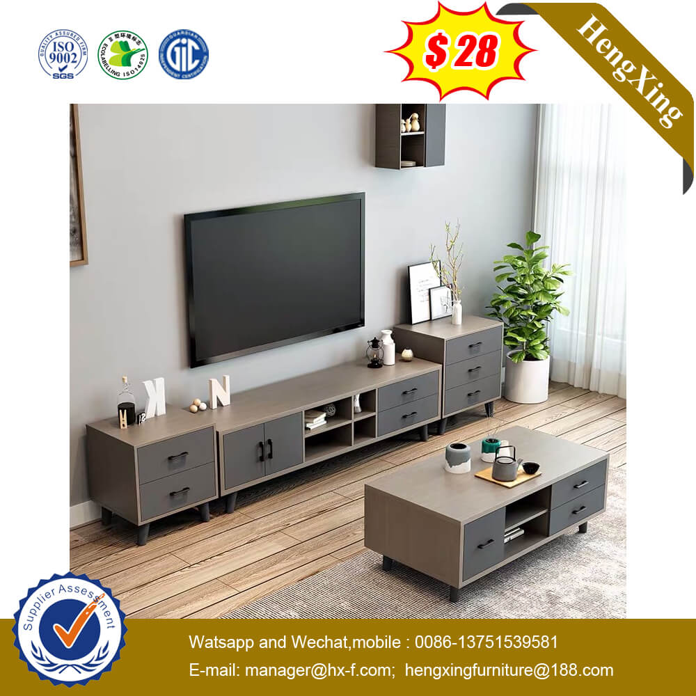 Living Room Furniture Modern Cabinet Tea Table Wood Coffee Table