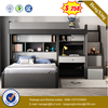 Light Luxury Melamine Board Double Bed Storage Bed Home Furniture Set