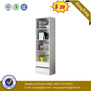 White Single Storage Rack Home Office Free Combination Display Storage Cabinets