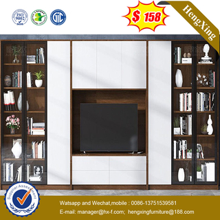 Modern Wooden Livingroom Furniture Set Coffee Table Bookcase Wall Unit TV Cabinet TV Stand
