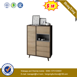 Wholesale Living Room Lower Storage Cabinet with Drawers Home Wooden Cabinets Furniture