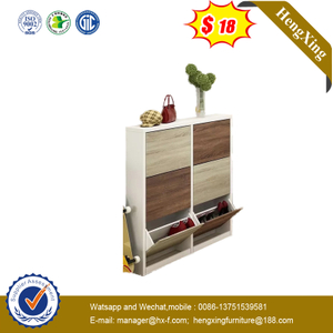 Modern Simple Home Furniture Wood Storage Shoes Rack Living Room Wooden Shoe Cabinet