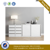 Foshan Factory Modern Fashion Steel Leg Double Cabinets Sliding Door Filing Cabinet with Drawers