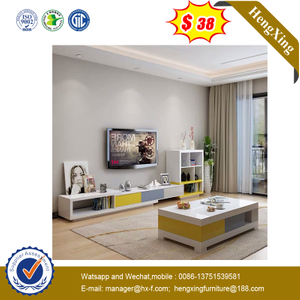 Colorful Modern Hotel Living Room Furniture Tea Coffee Table TV Stand Cabinets
