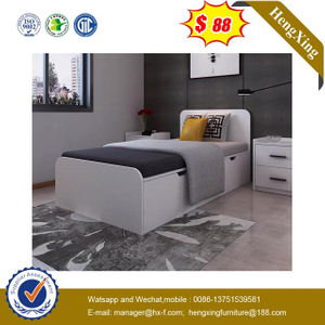 Factory Modern Home drawer cabinets Wardrobe closet Wooden Kids single bed Bedroom set Furniture