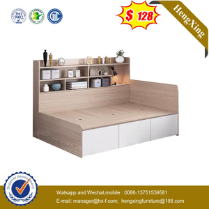 Wood Children Preschool Bedroom Living Room Baby Furniture Wardrobe drawer cabinets Kids single Beds
