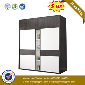 Manufactures Melamine Hotel Furniture MDF Wardrobe with Drawers Bedroom Furniture