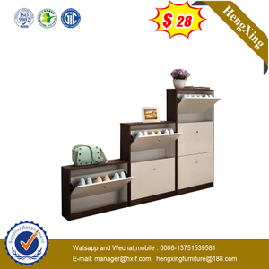 Chinese Modern Living Room Shoe Storage Cabinet 2/3/4 Shelf Shoes Rack Combination Furniture