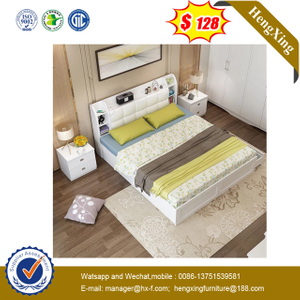 Modern Wood Home Bedroom Furniture set mattress wardrobes Double Sofa King Wall Bed