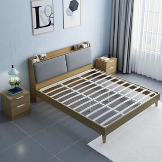 American Royal Style Bedroom Furniture Antique Bed Frame King Double Bed